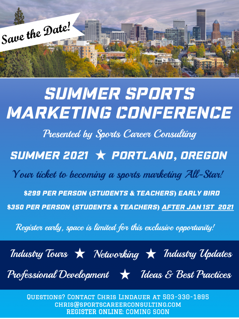 Summer Sports Marketing Conference